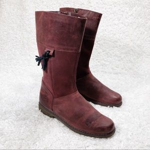 Timberland Red Boots